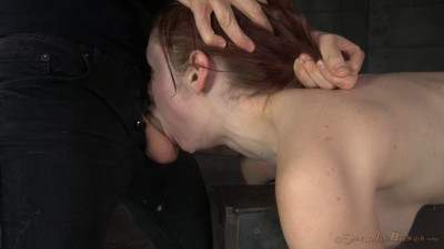 Redheaded Violet Monroe Strictly Shackled And Utterly Destroyed By Hard Cock Brutal Deepthroat