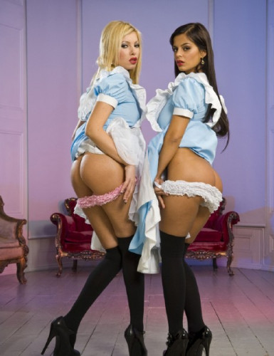 Donna Bell, Black Angelika — The Pleasing Maids HD 720p