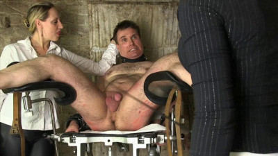 Mistress Cloe & Lady Faye — Whipping On The Gyn Chair!!!