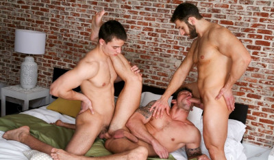 perfect bareback guys - (Men In The City - Double Match Jan Faust, Jalil Jafar, Rado Zuska)