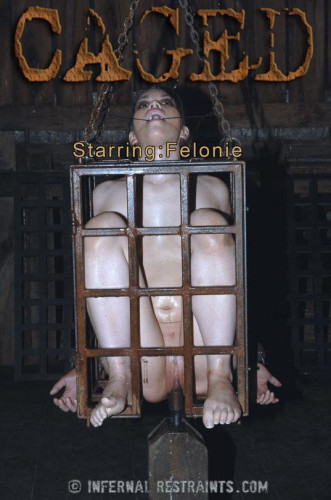 Felonie Caged - BDSM, Humiliation, Torture