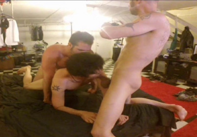 Damon Dogg, Conor Kent & Eli Haven: Fucking Threesome (720p)