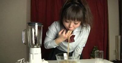 Japanese Schoolgirl Vomit 02