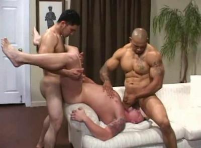 Latin Muscle Men Bareback