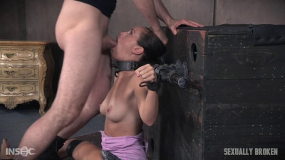 Sexy milf Alana Cruise discovered fear & orgasms are an amazing combination, Brutal Throat Boarding!