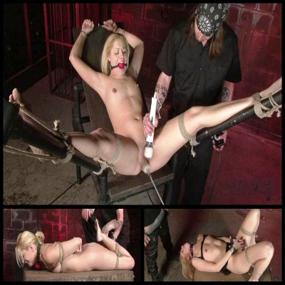 Whoring Out Morgan In Bondage (9 April 2015) SSMRedux