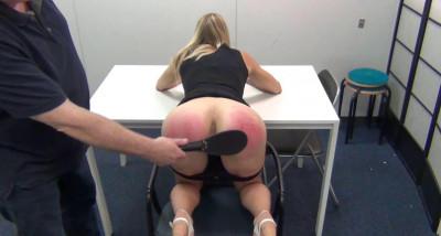 Jentinas first spanking (2016)