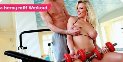 A Horny Milf Workout