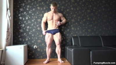 Pumping Muscle - Gary E 2nd Photo Shoot