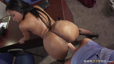 He Couldnt Resist A Secretary With A Big Boobs