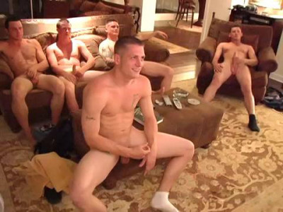 Barrett Long, Levi, Shane, Adam & Elijah In Group Fucking