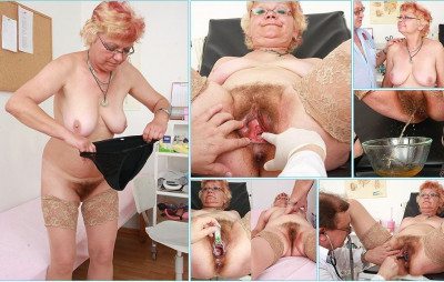 Bety - 57 years woman gyno exam