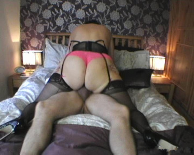 Mature English lady planted on cock