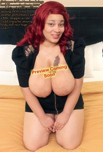 big boob redhead bbw Capris Red second fuck