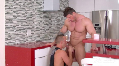 Big muscular monster dick! - fuck, english, cock
