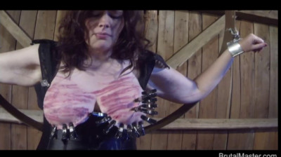 BM – Cow – Hooded Tit Torture