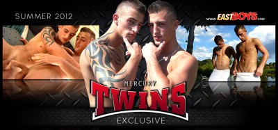Exclusive Joseph and Roberto Mercury Twins - part 2