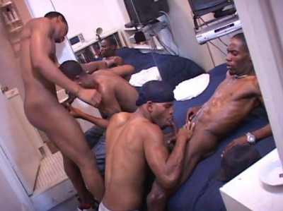Black Men In Hot Orgy