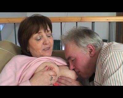 Old couple still enjoys it