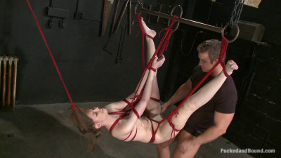 Kristines First Time Kristine TJ Cummings – BDSM, Humiliation, Torture HD 720p
