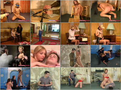 SlavesInLove. Full Gold Collection. 30 Clips. Part 2.
