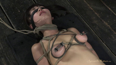 Cute Japanese Girl Roughly Deep Throated And Fucked With Wax Dripping On Her Huge Nipples Cumming