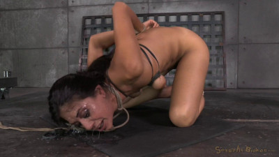 Lyla Storm Brutally Bound In Strict Strappado Completely Destroyed Rough Sex Deepthroat (2014)