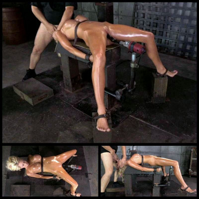 Bound On Fucking Device (31 Oct 2014) Sexually Broken