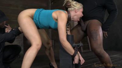 SexuallyBroken Stunning Anikka Albright Does Brutal Deepthroat