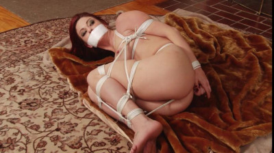 Bound and Gagged - Sarah Brooke Roped Naked and Barefoot - plus Behind the Scenes
