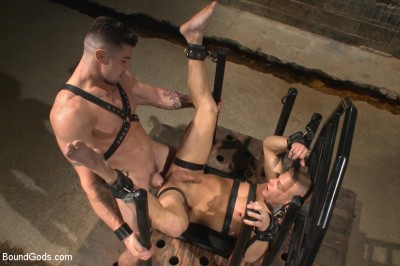House dom Trenton Ducati brutally fucks the new slave boy