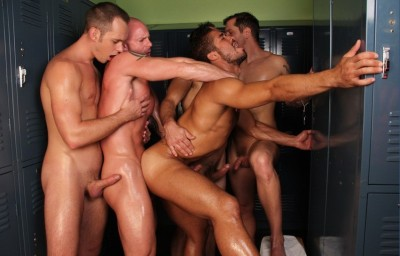 Locker Room Tryst