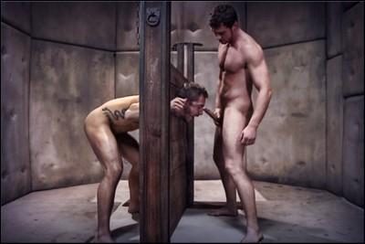 BDSM hard - Brutaltops gay Split best scene part 1.