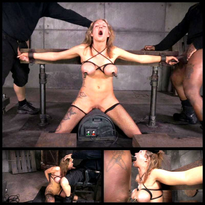 Live SexuallyBroken Show Part 3 - Rain DeGrey # 2 (13 May 2014) Real Time Bondage