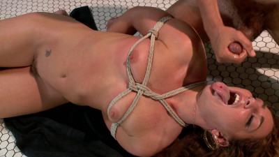 FAB - Newbie Gets Brutally Fucked in Tight Bondage