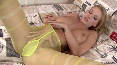 Danielle Maye - Striped up!