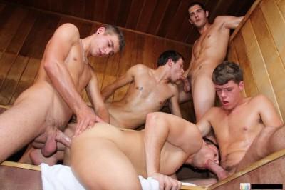 Steamy Sex Orgy