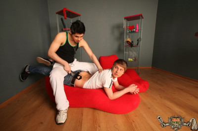 RedAssTwinks - This skilled slaps excite so much! And this guy has such a huge knob! 1080p