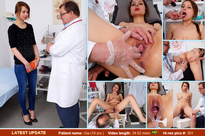 Gia (19 years girls gyno exam)