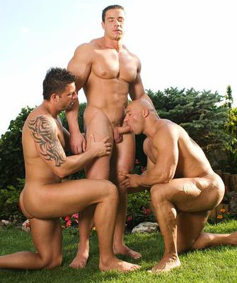 Hot Threesome Julian Vincenzo, Fernando Nielsen & Win Diesel