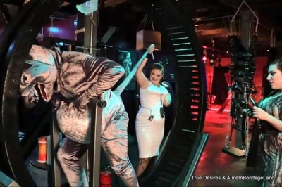 Hamster Wheel From Hell - FemDom Pet Play Sadistic Humiliation