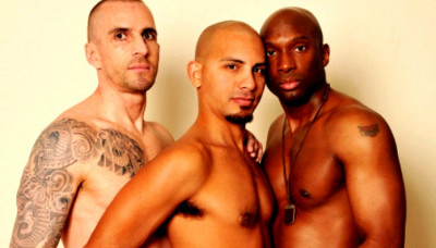 Antonio Biaggi, Champ Robinson & Kriss Aston (April 19, 2013)