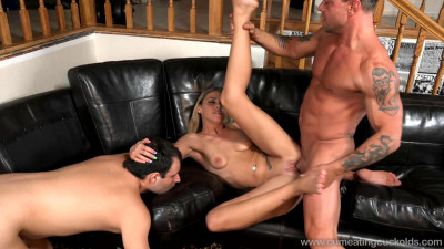 An old friend came to visit and fucked with her husband