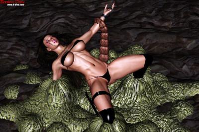 (3D FLASH) DIVA MANIA アンジェリーナ 囚われの姫