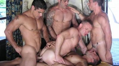 Peter Burg, Tony Duke, Jorge Ballantinos, Daniel Marvin and Pedro Andreas