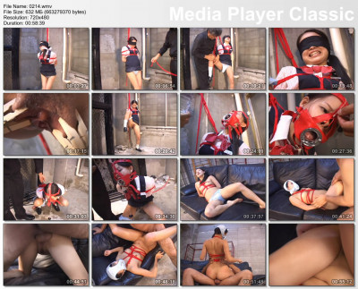 Young Japanese Schoolgirl In Bondage
