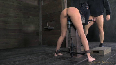 Takes 10 Inches Of BBC, Strict Bondage And Brutal Deep Throating