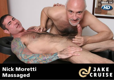 Nick Moretti Massaged