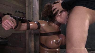 Ava Devine, Sybian Orgasmed Out Of Her Mind While Brutally Throat Fucked