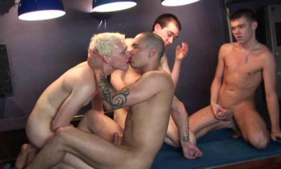 Hot Twinks At The Orgy